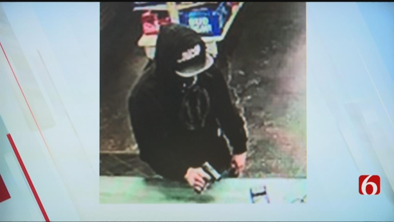 Tulsa Police Search For Armed Robbery Suspect