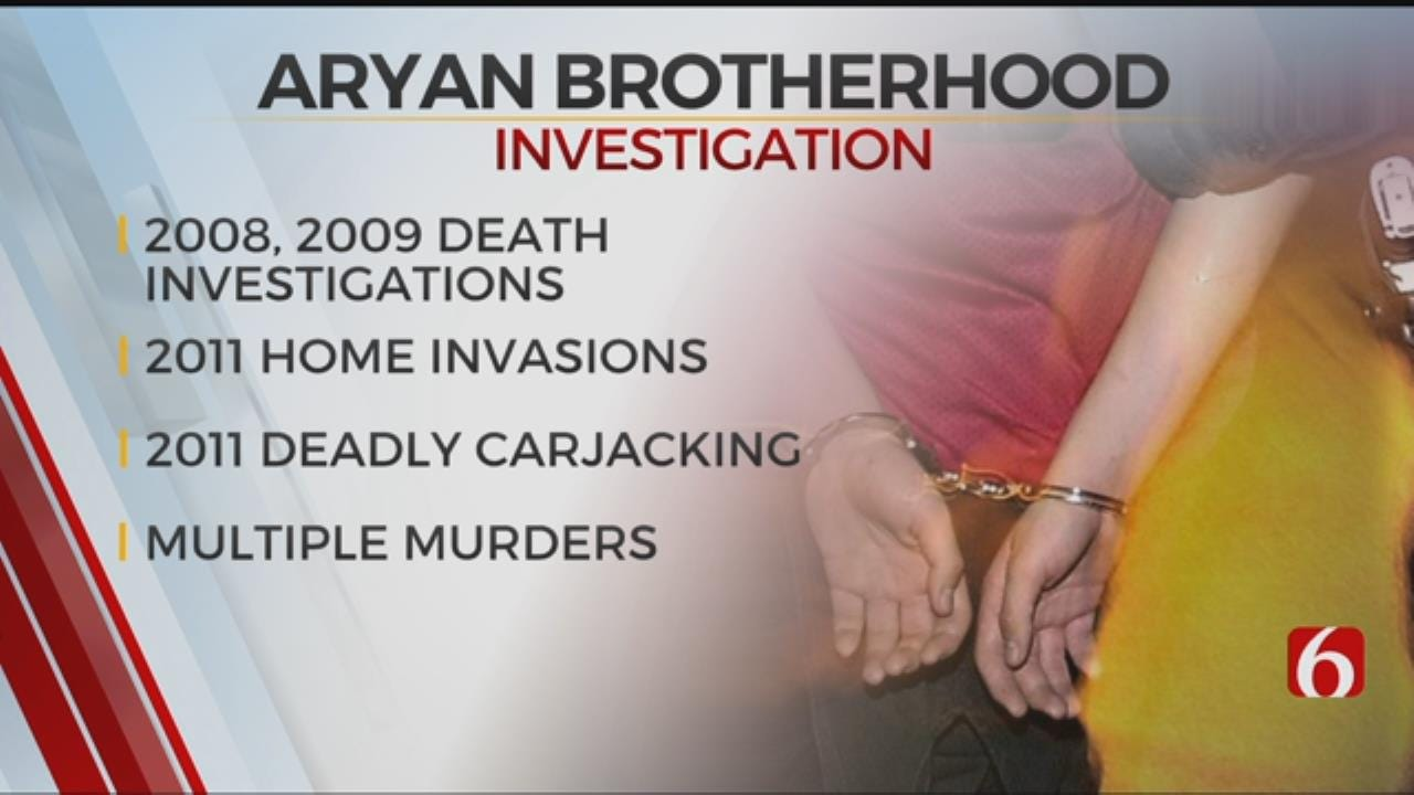 U.S. Attorney To Announce Indictment Of 18 Aryan Brotherhood Members