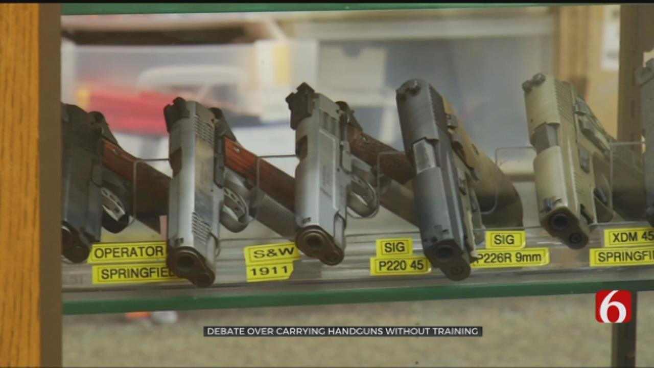"""Firearms Instructors Urge Training for """"Constitutional Carry"""""""