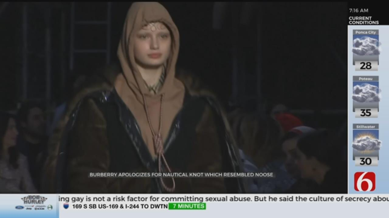 Burberry Apologizes For Noose Hoodie