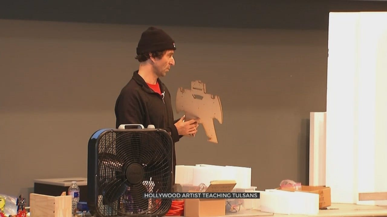 Aspiring Artists Learn Techniques From Hollywood Sculptor At TCC