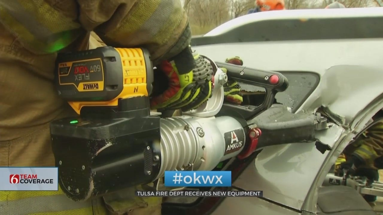 New Jaws Of Life May Make Life-Saving Difference For Tulsa Firefighters