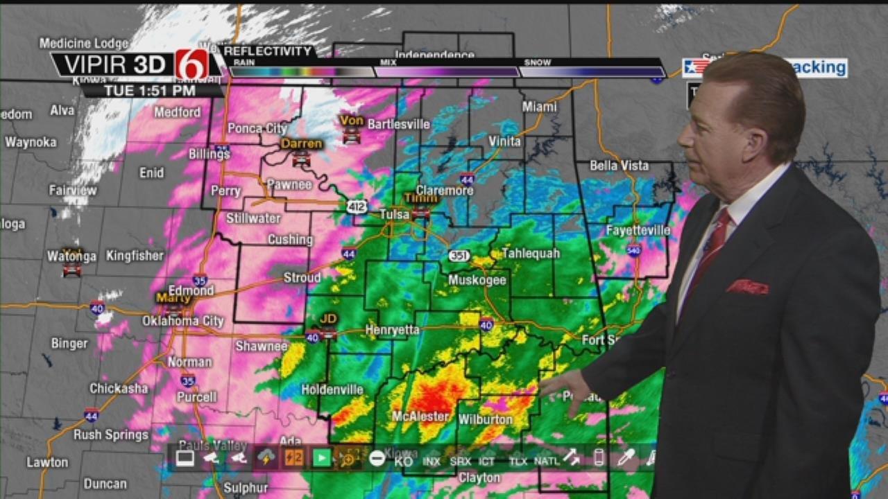 WATCH: Winter Weather Update From Travis Meyer