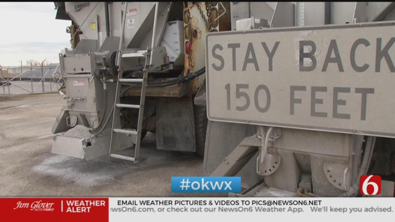 City Of Tulsa Gears Up For Winter Weather