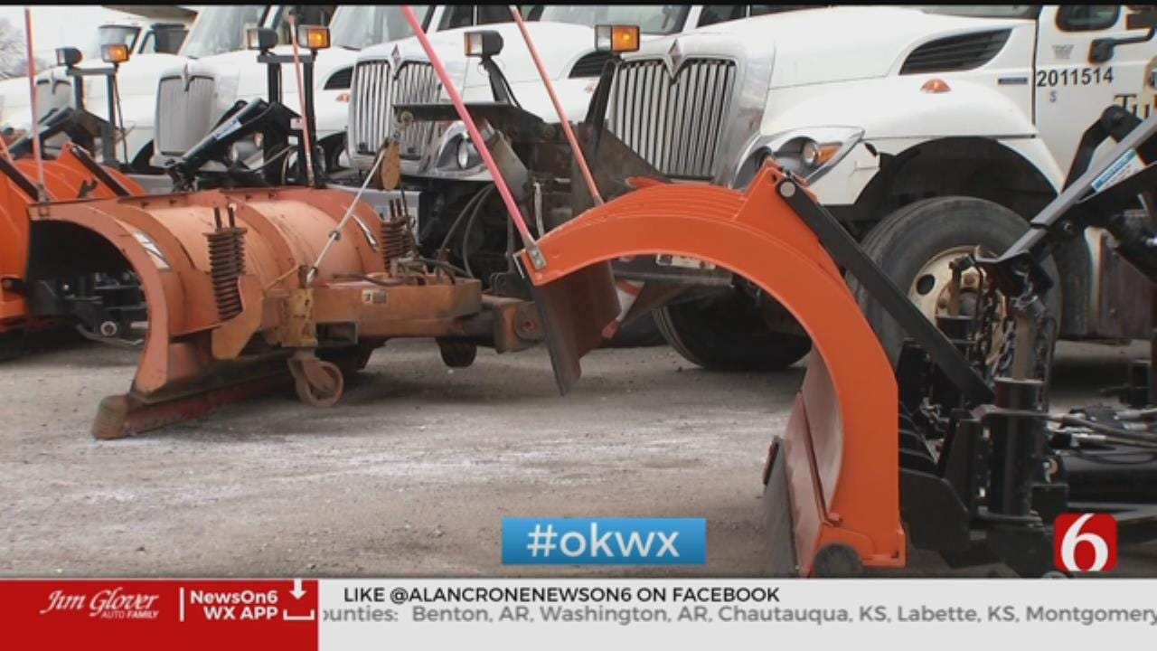 Tulsa Prepares For Winter Weather