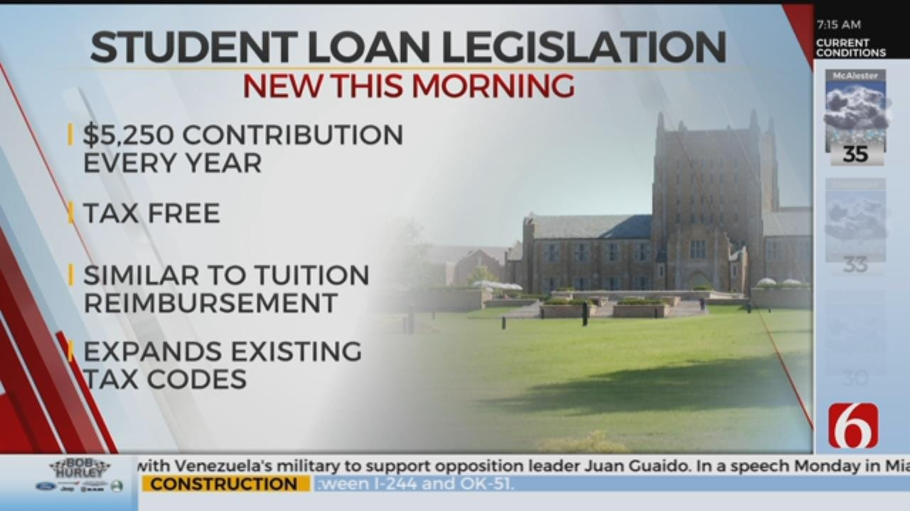 New Bill Could Bring Student Loan Relief