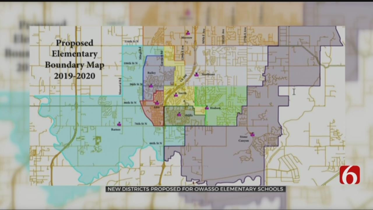 Owasso Details Redistricting Plans For Elementary Schools