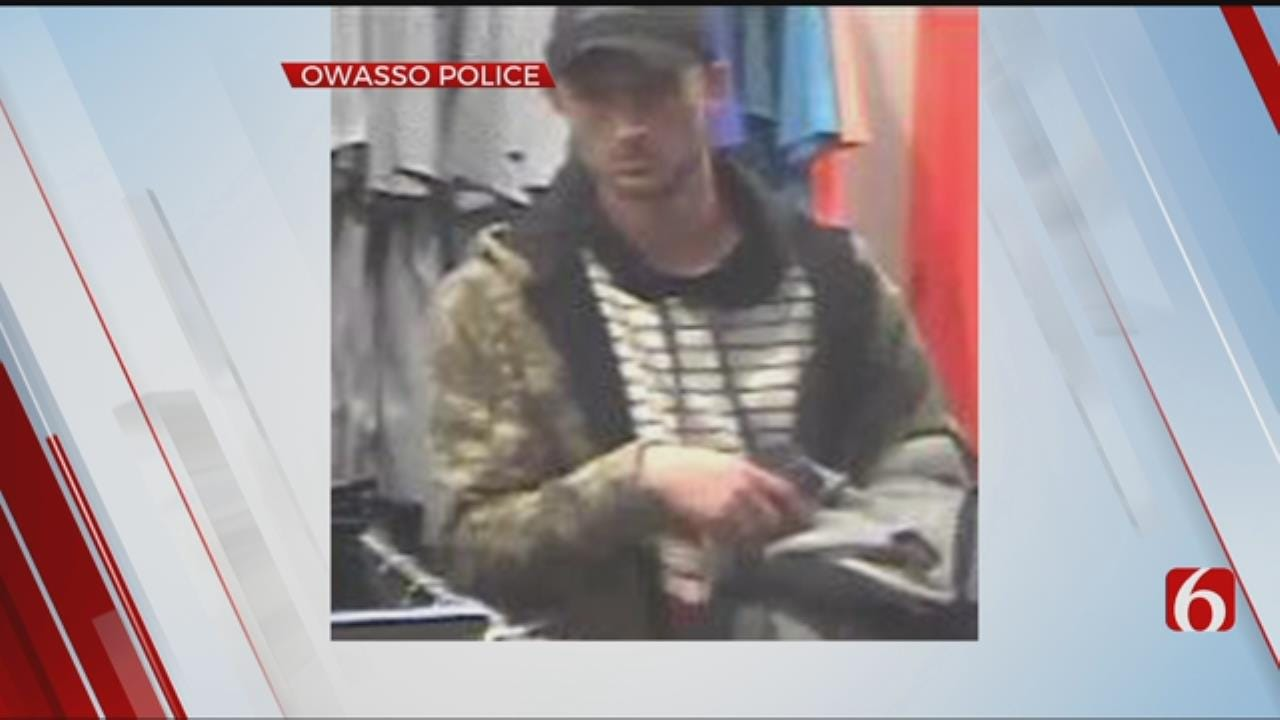 Owasso Police Searching For Person Of Interest In Theft Attempt
