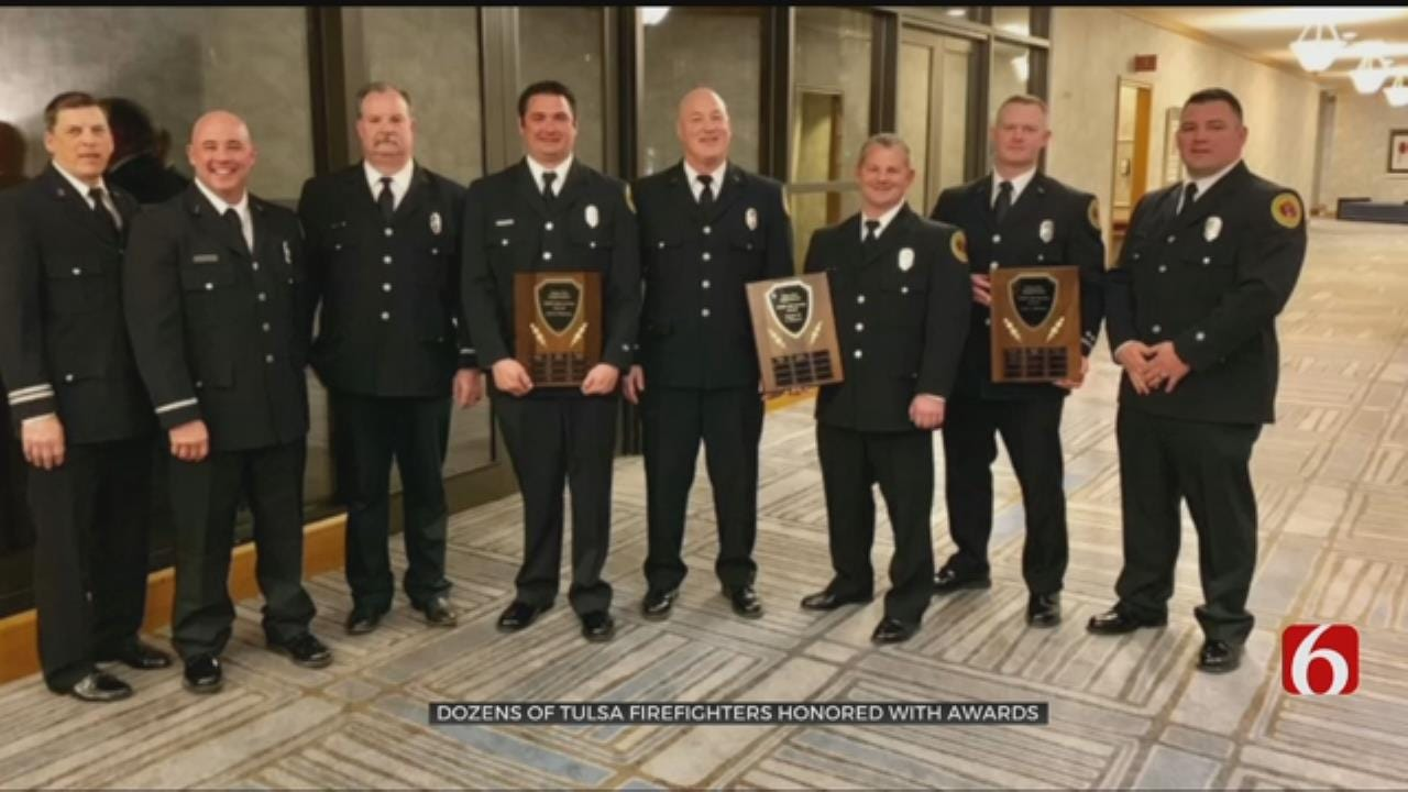 Tulsa Firefighters Receive Honors After Being Nominated By Peers