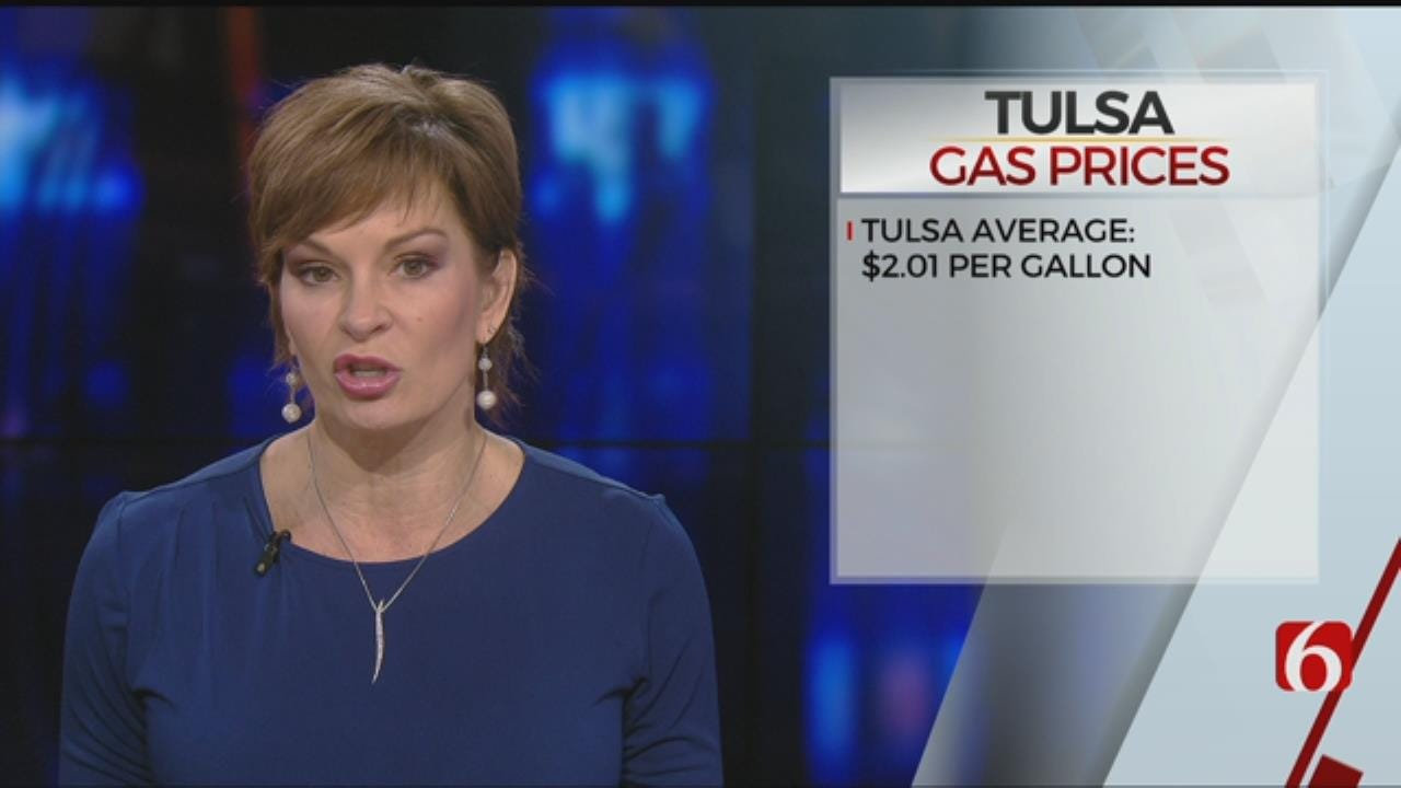 Tulsa Gas Prices On Slow Climb