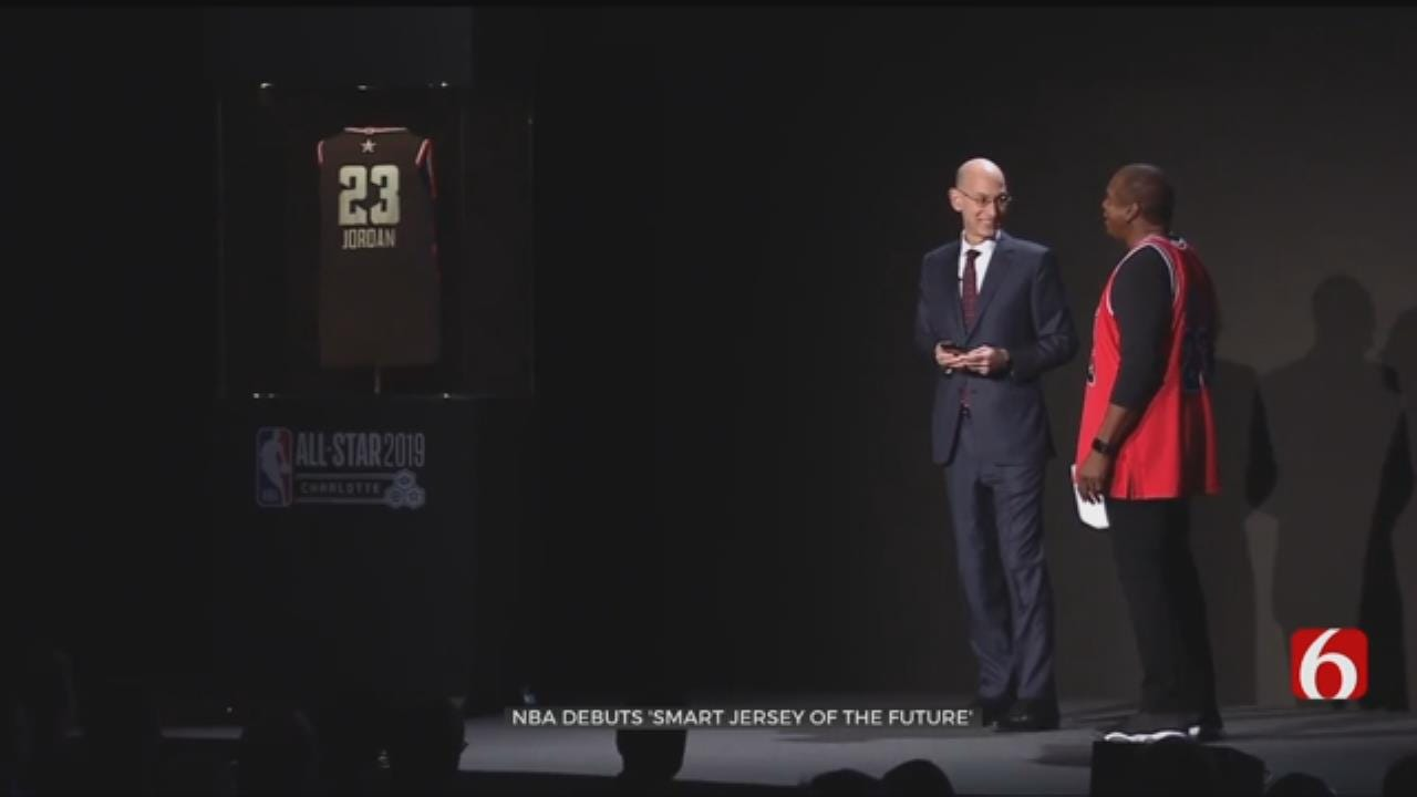 NBA Unveils 'Jersey Of The Future'