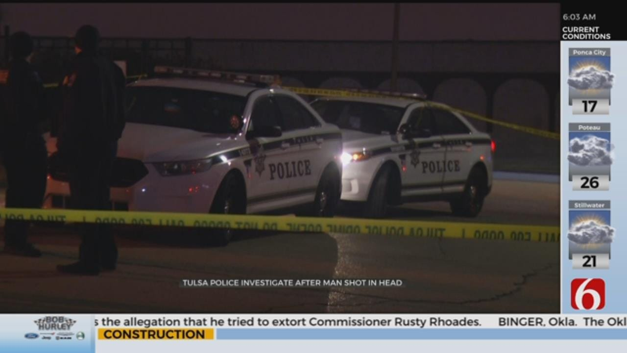 Man Dies After Being Shot In The Head At Tulsa Apartment Complex