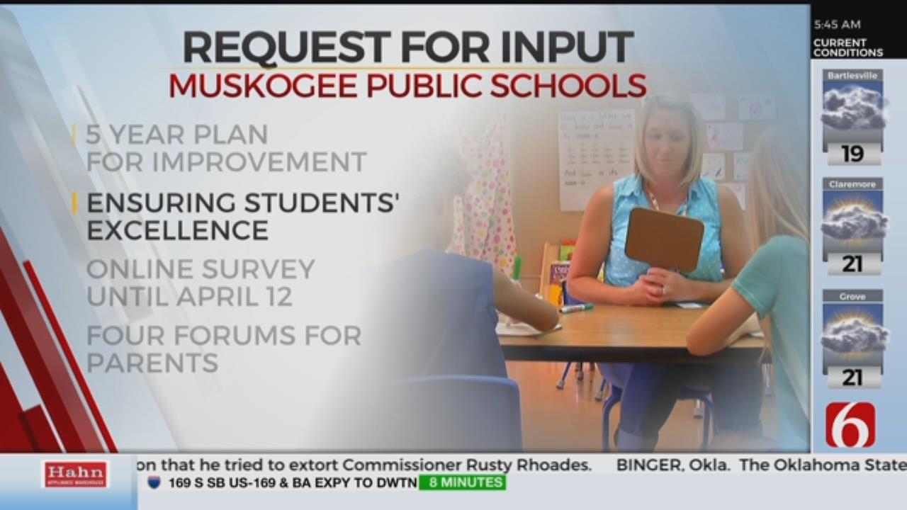 Muskogee Public Schools Seek Community Input