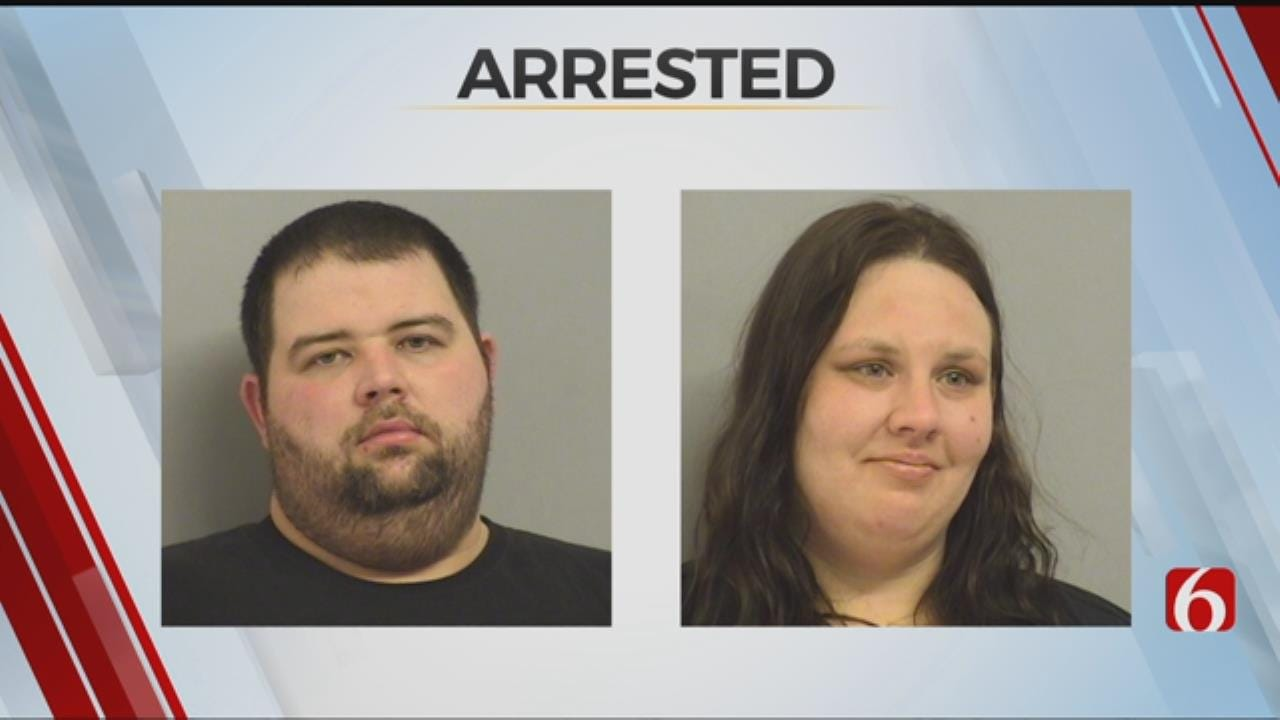 Tulsa Couple In Jail After Trying Evade Drug Arrests