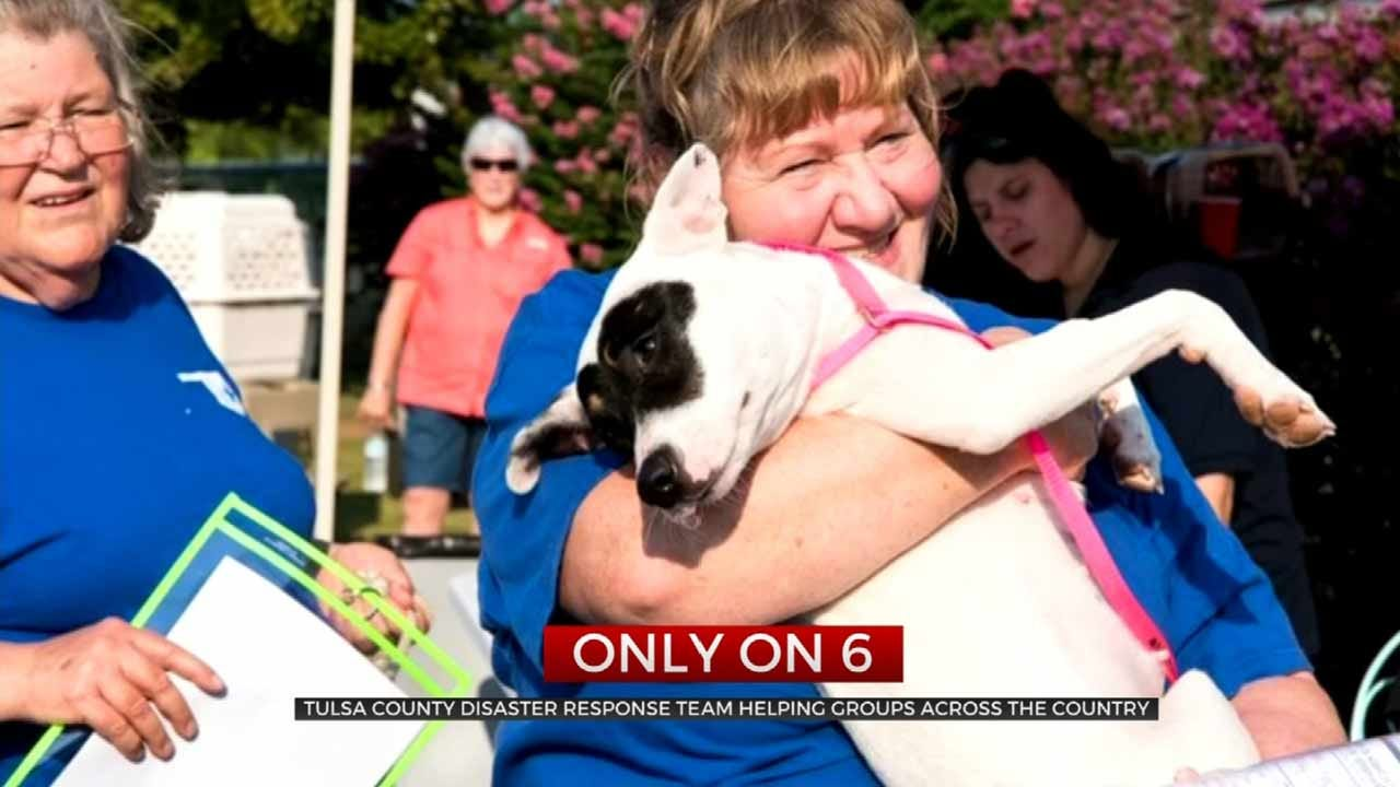 Tulsa County Medical Reserve Corps Sets Standard For Animal Rescue
