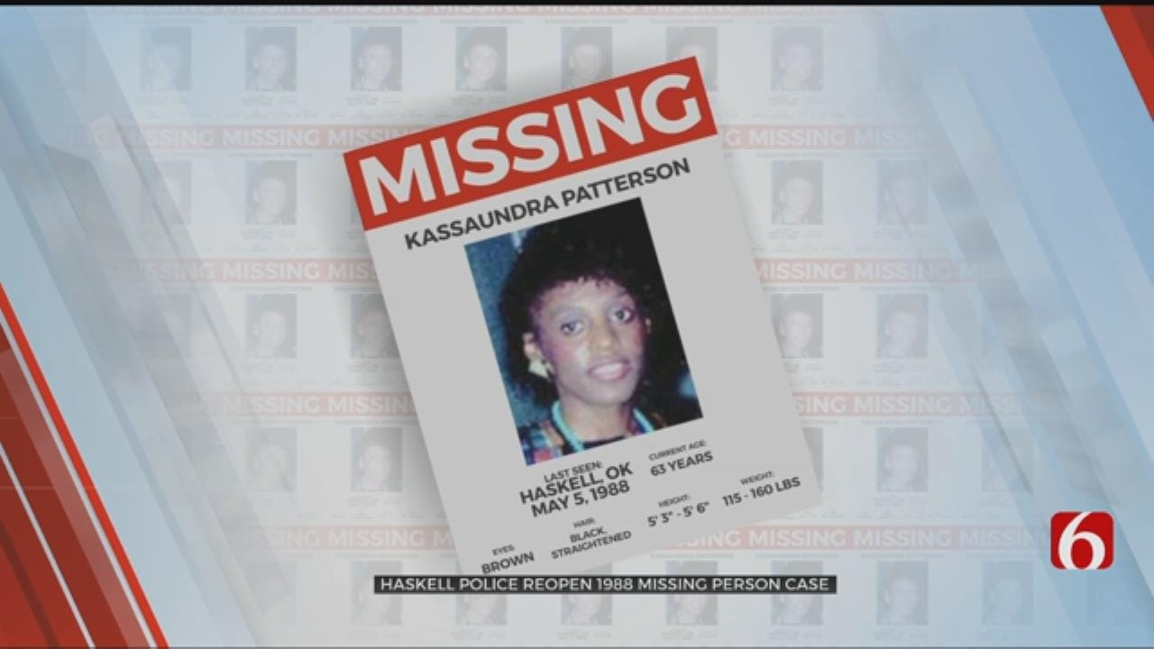 Haskell Police Re-Open 30 Year Old Missing Persons Case