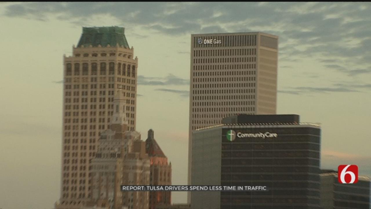 Study Says Tulsa Traffic Is Among Best In The Nation