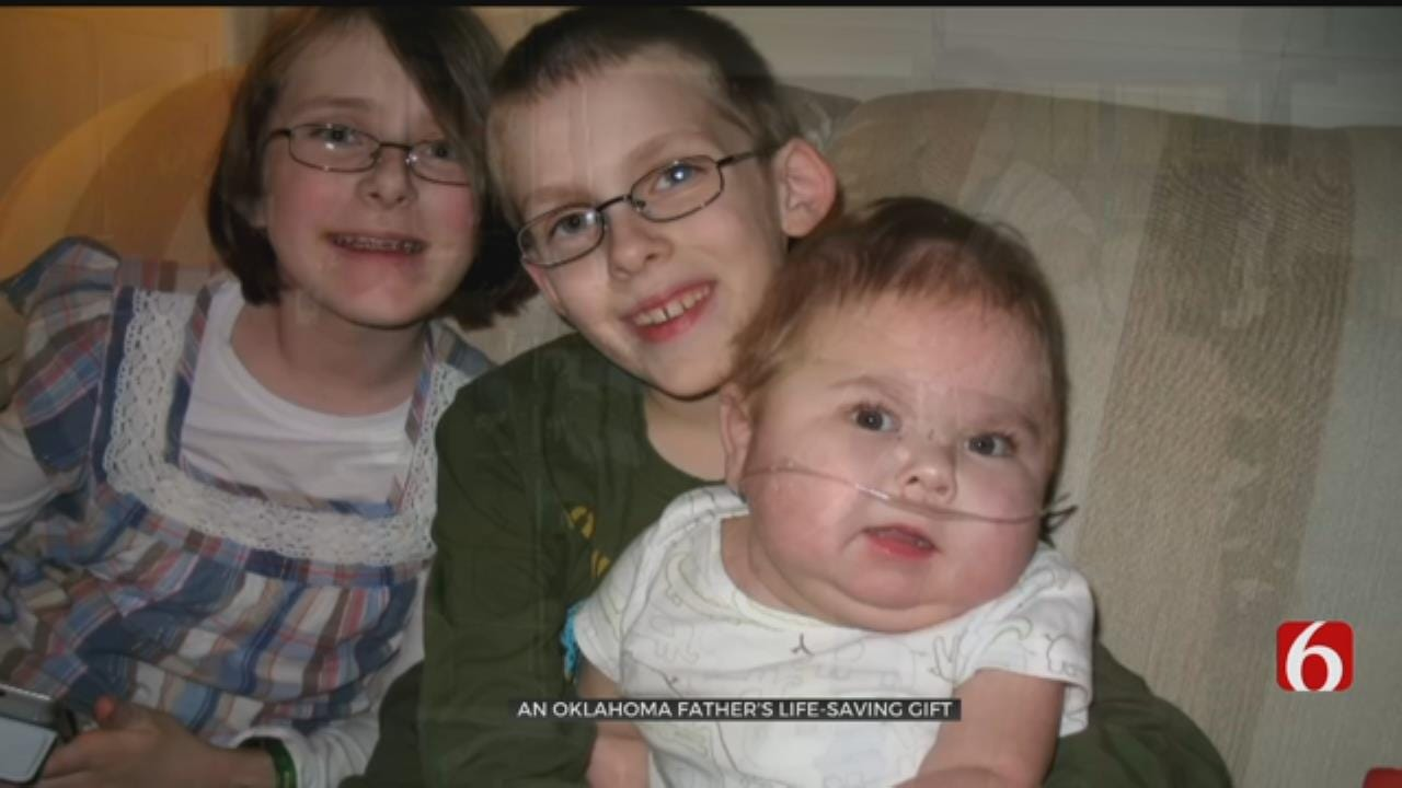 Oklahoma Father Gives Son The Gift Of Life