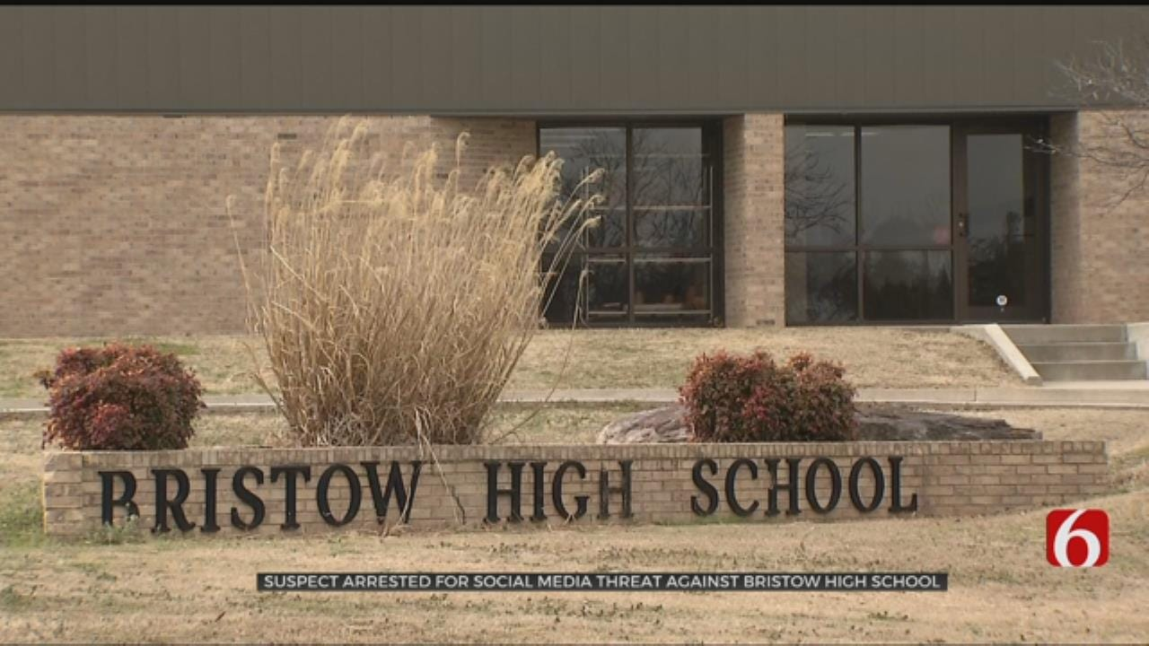Bristow High School Graduate Arrested After Threat Reported