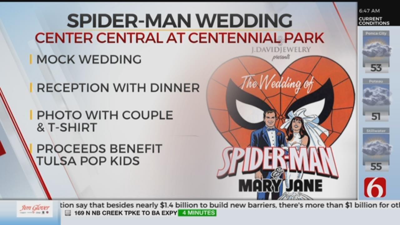 Tulsa Pop Kids Host Spider-Man And Mary Jane's Wedding
