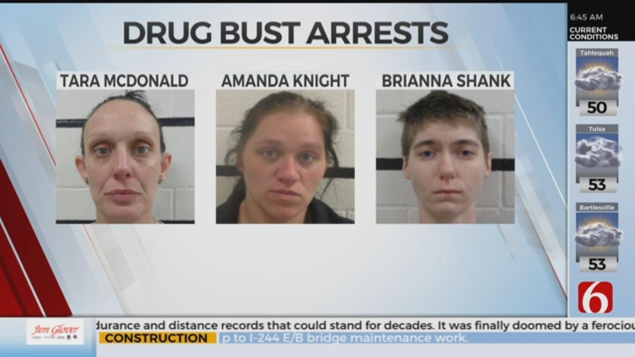 4 In Jail After Pittsburg County Drug Bust