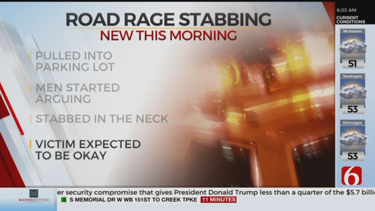 1 Person Stabbed After Road Rage Confrontation
