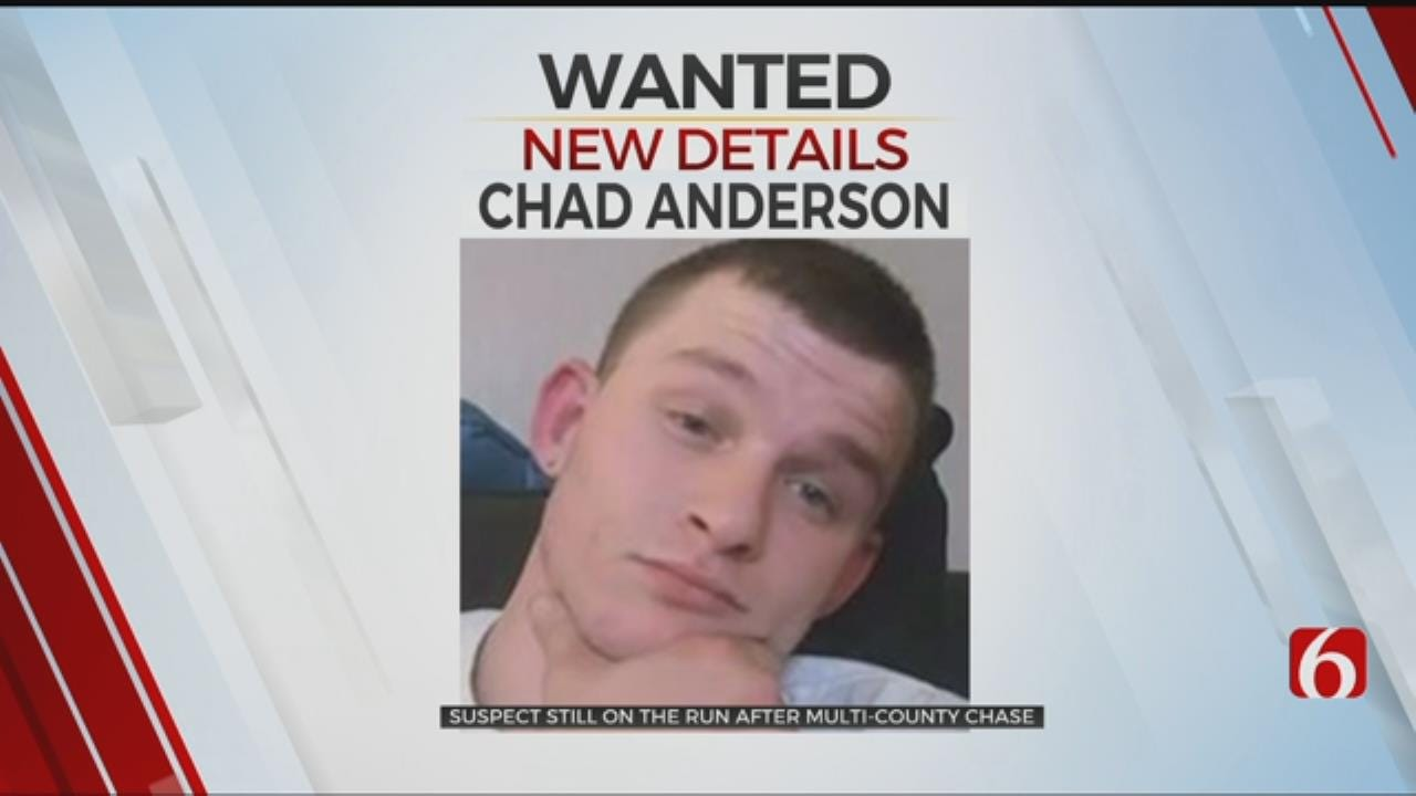 Deputies Still Searching For Rogers County Chase Suspect