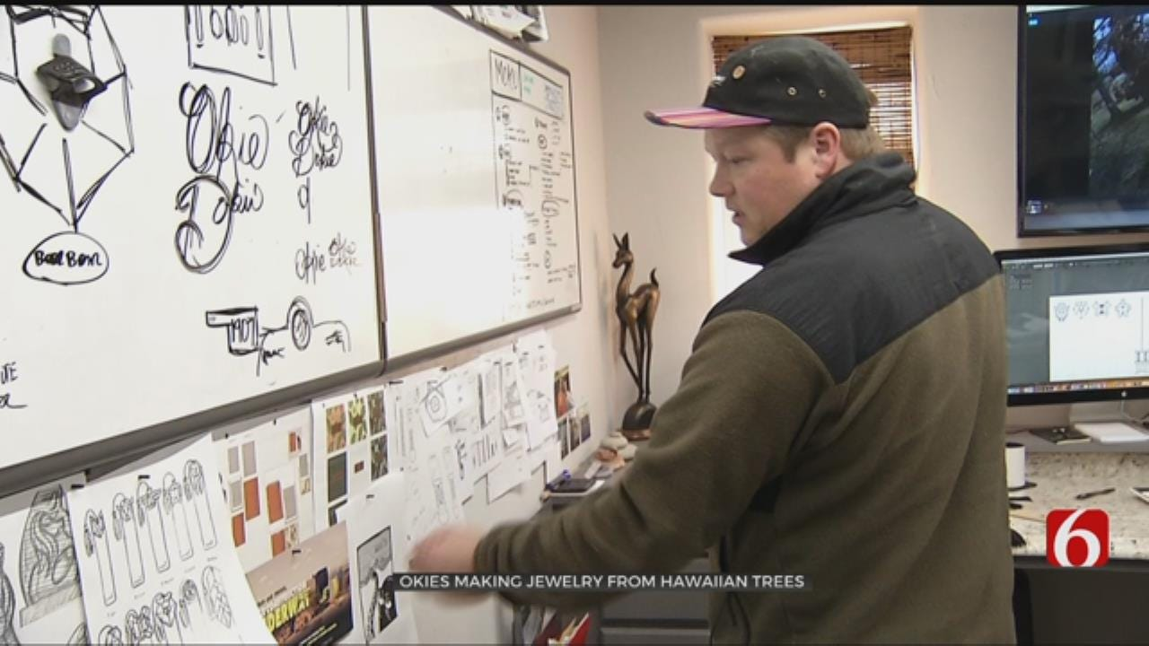 Osage County Business Blends Oklahoma And Hawaii To Make Unique Artwork