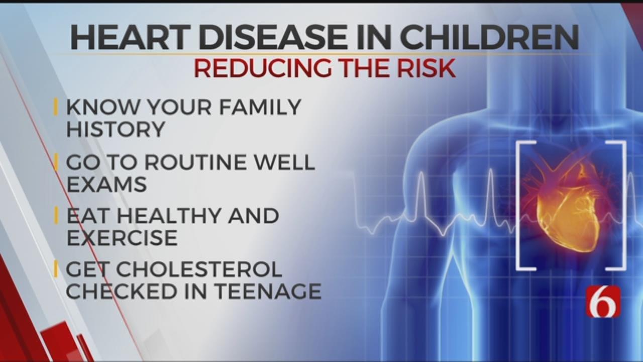 Tulsa Pediatrician Talks About Reducing Risk Of Heart Disease