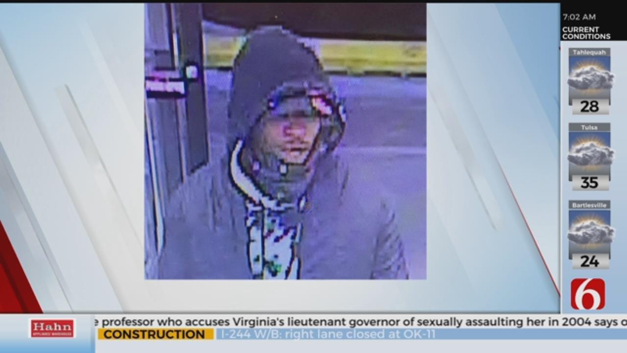 Tulsa Police Looks For Walgreens Robber