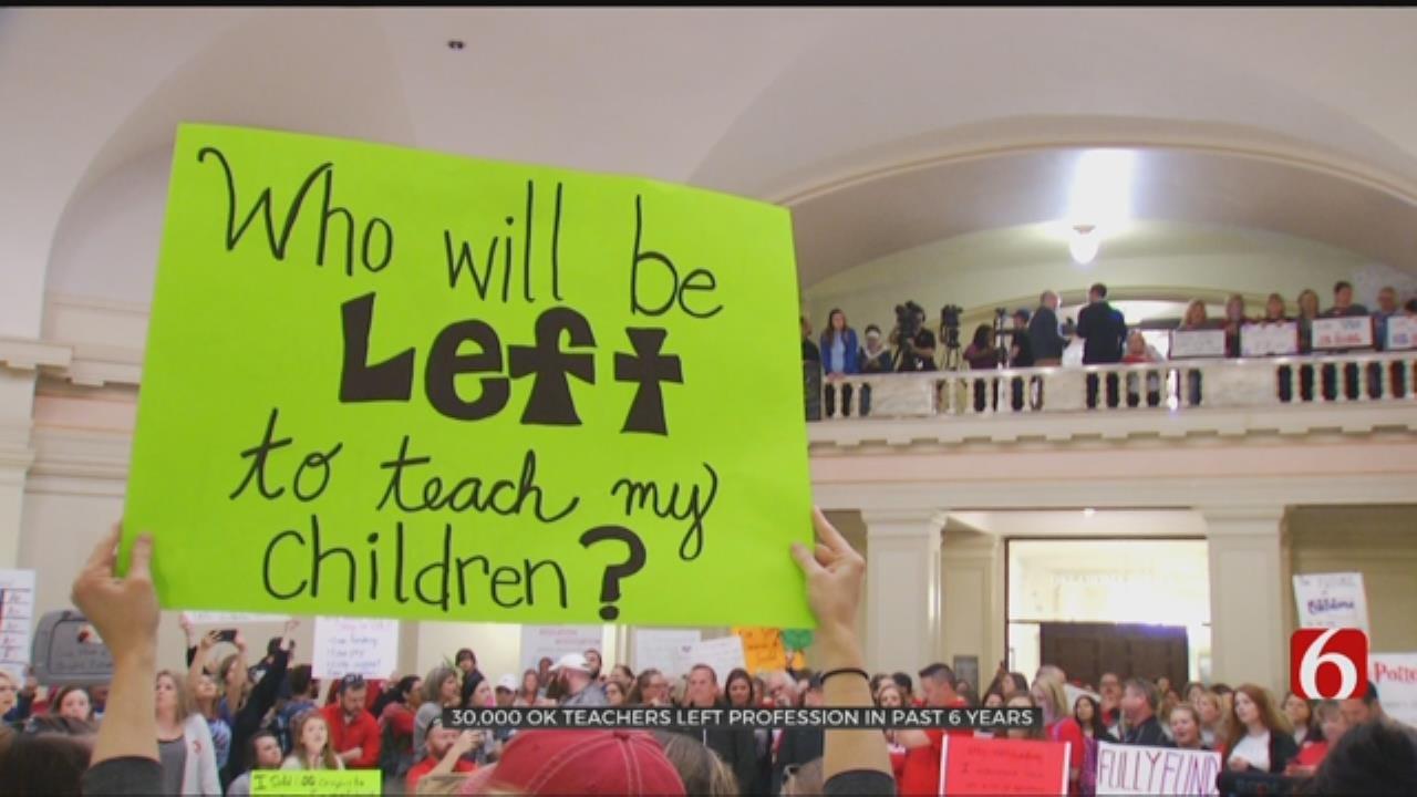 Oklahoma Teacher Turnover Higher Than Most States