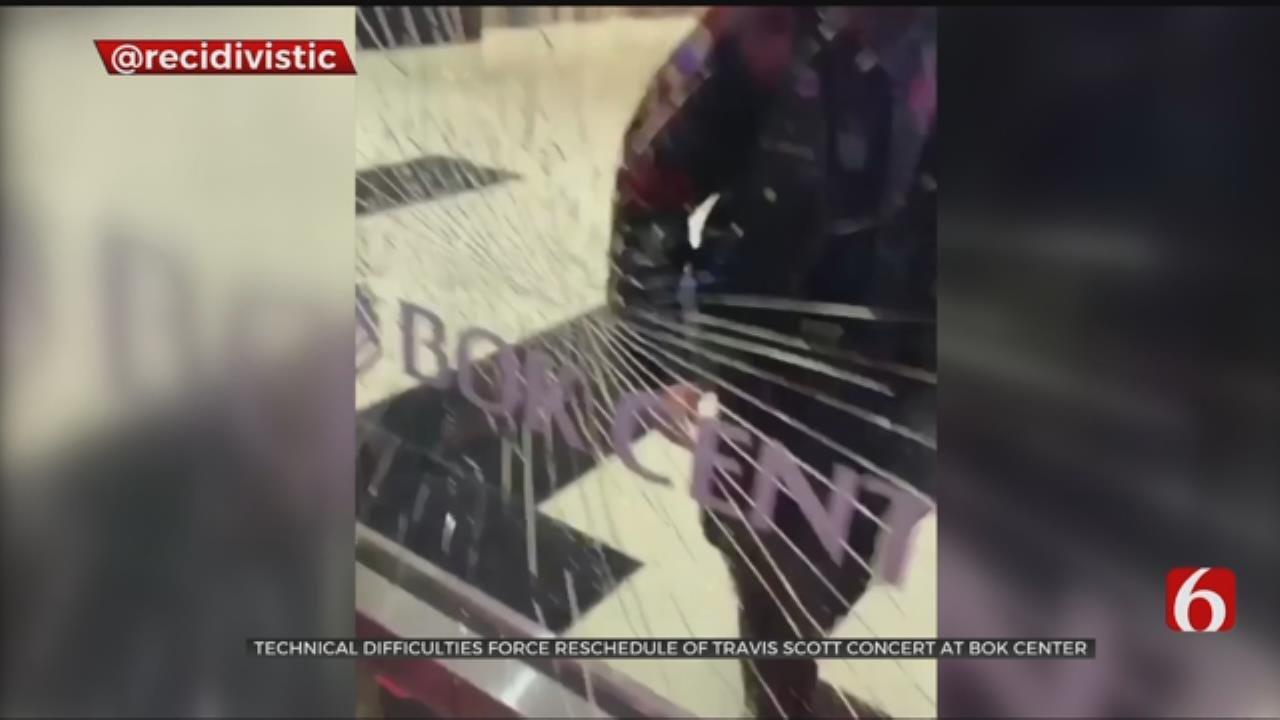 Fans Frustrated After Postponement Of Travis Scott Concert