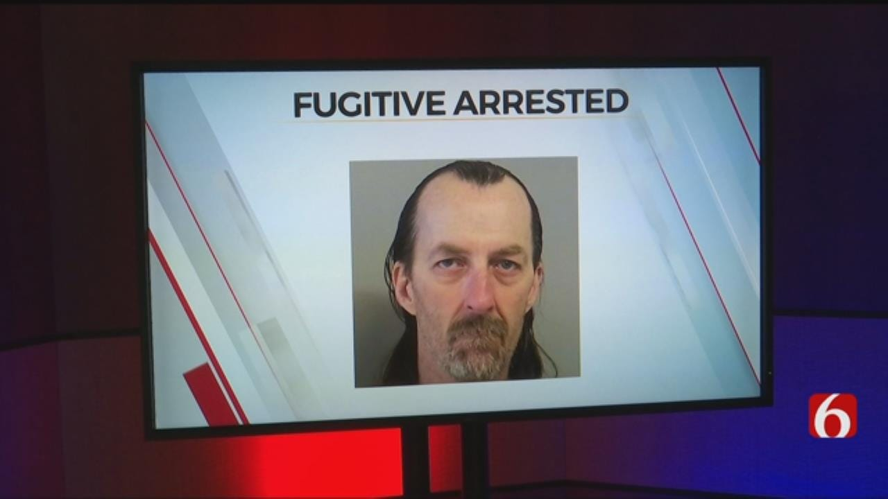 Tulsa County Fugitive Arrested After Cutting Ankle Monitor Off