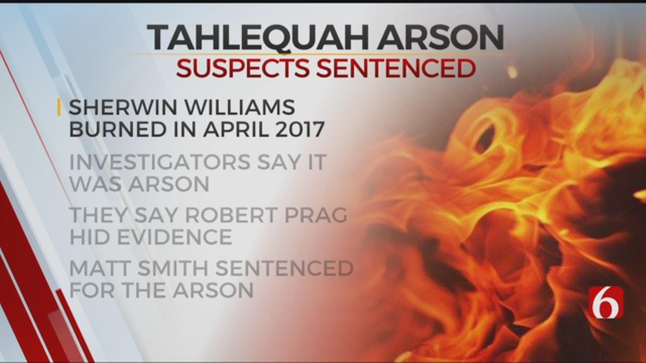 Tahlequah Man Sentenced To Year In Prison For Aiding Arsonist