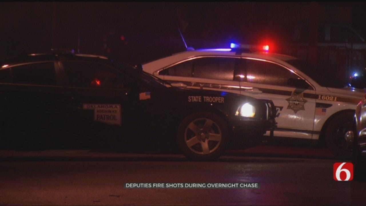 Deputies Shoot At Rogers County Chase Suspect