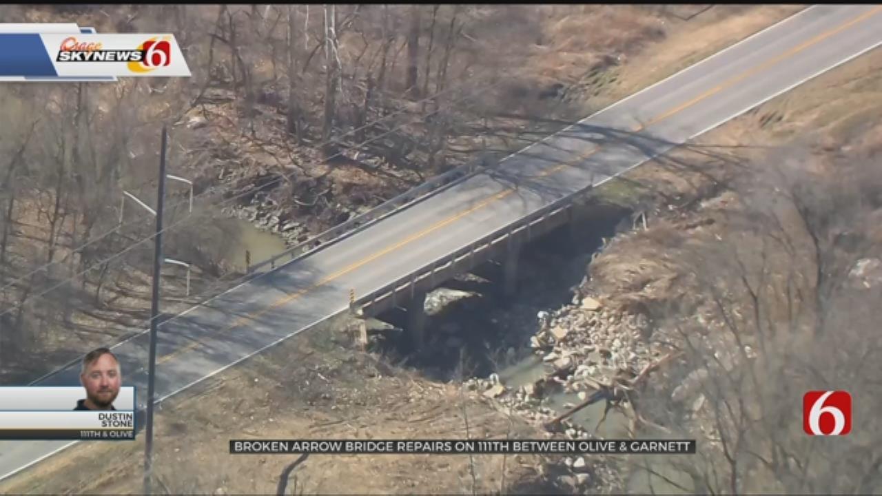 Broken Arrow Road Construction Starting