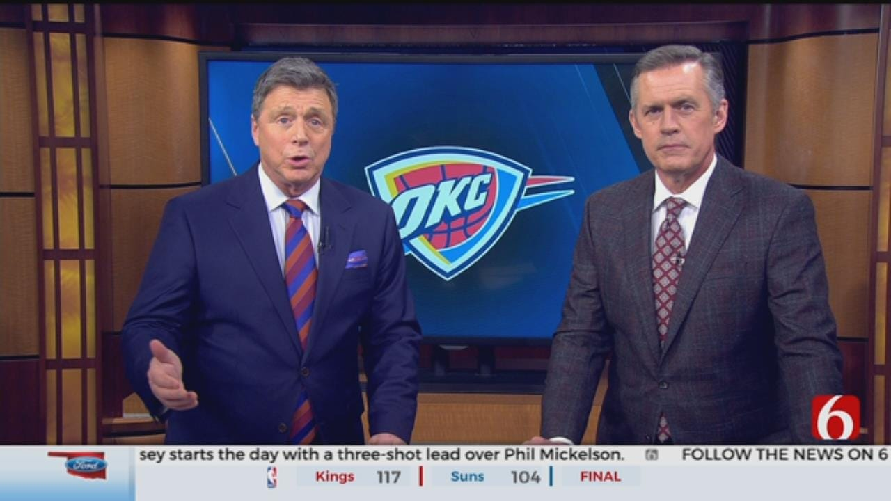 Thunder stays hot against the rockets