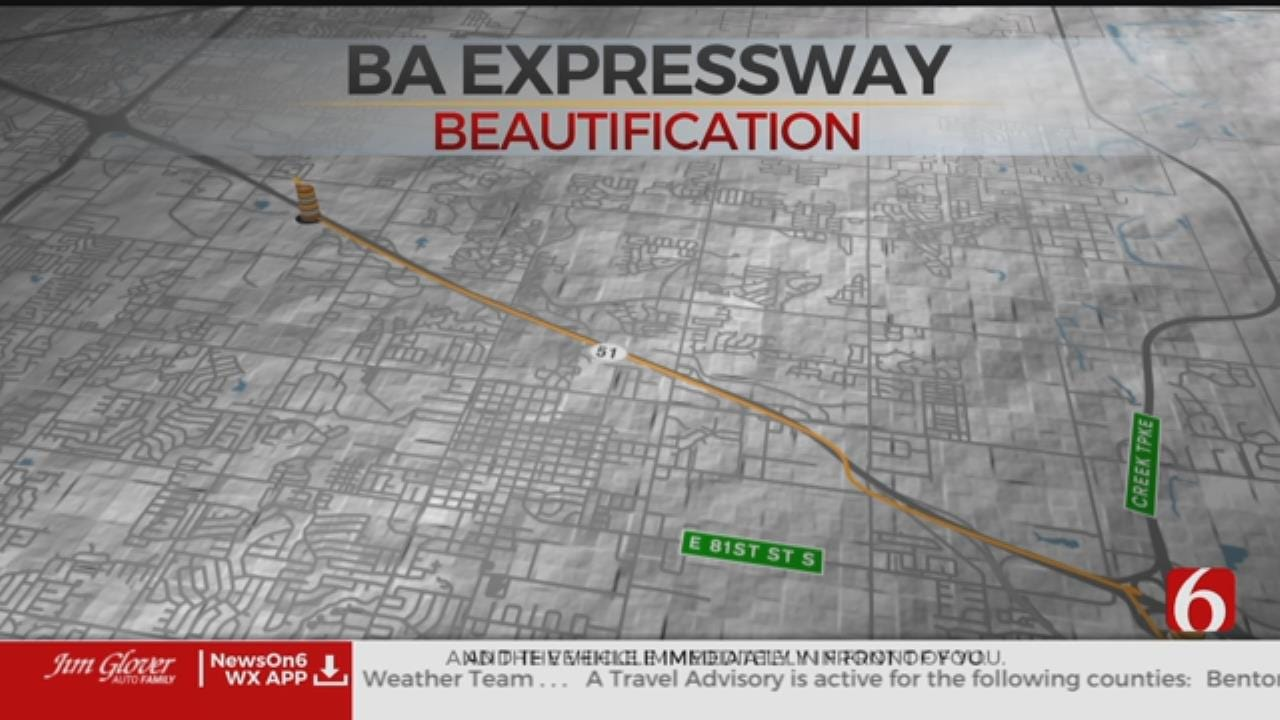Broken Arrow Begins New Beautification Project Along Expressway
