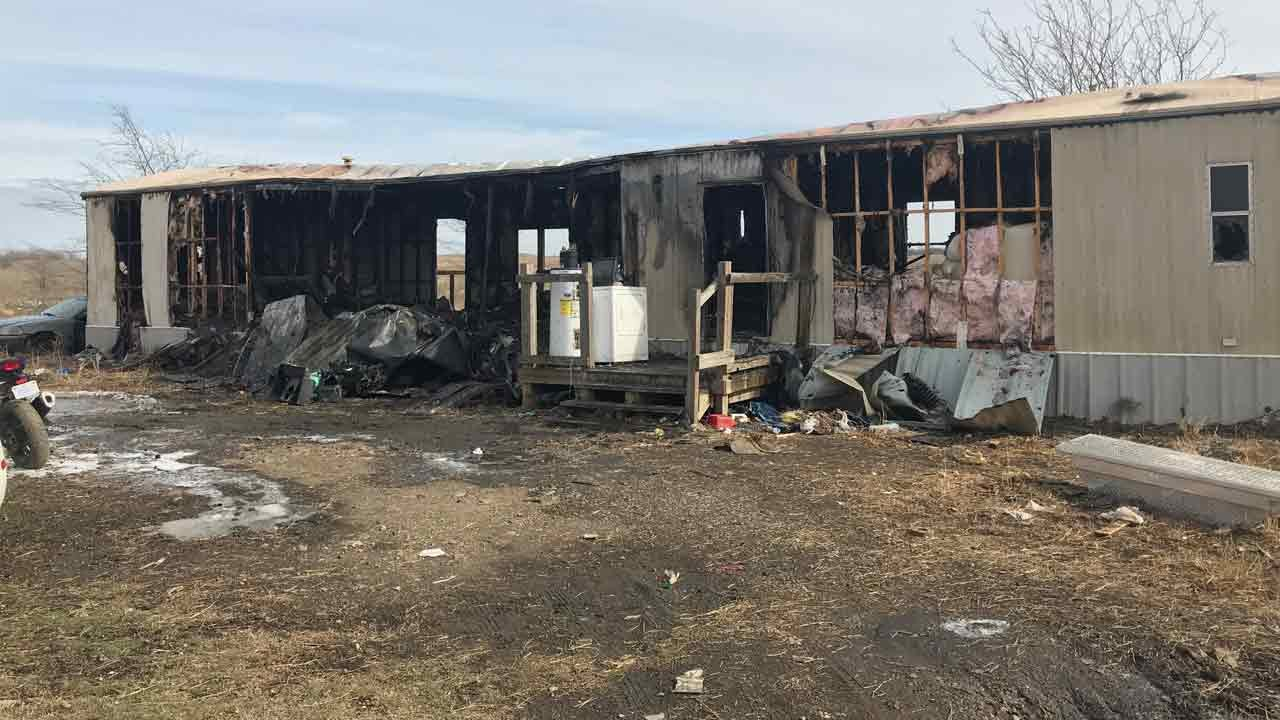 Foyil Family Loses Everything Including Their Dogs In House Fire