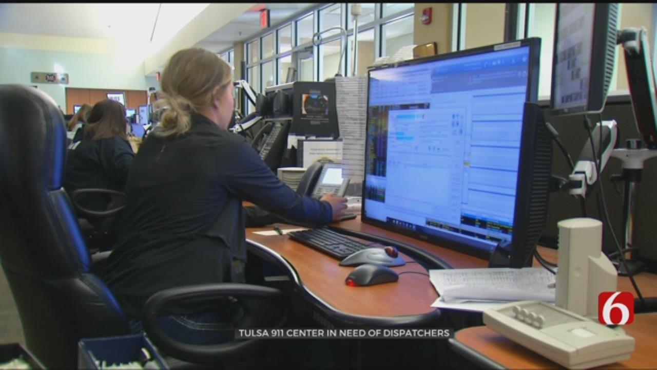 Tulsa 911 Center Facing Staff Shortages