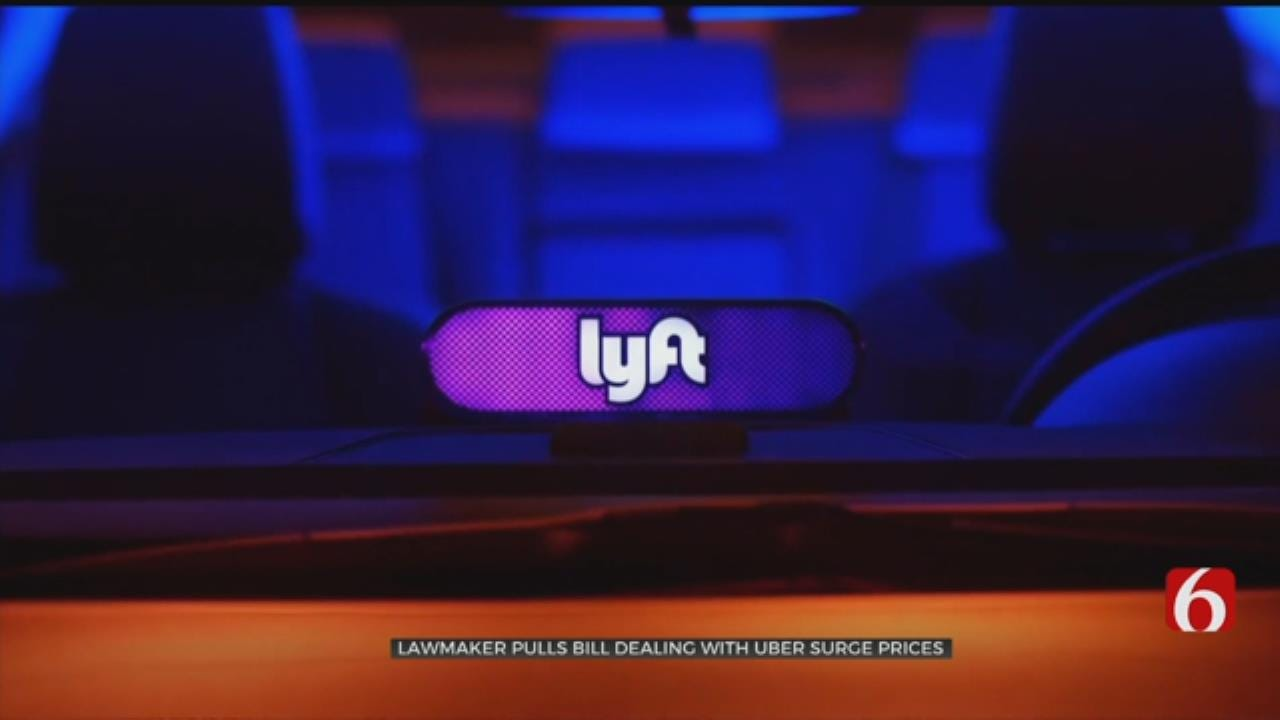State Lawmaker Pulls Bill That Could Have Made Uber, Lyft More Expensive