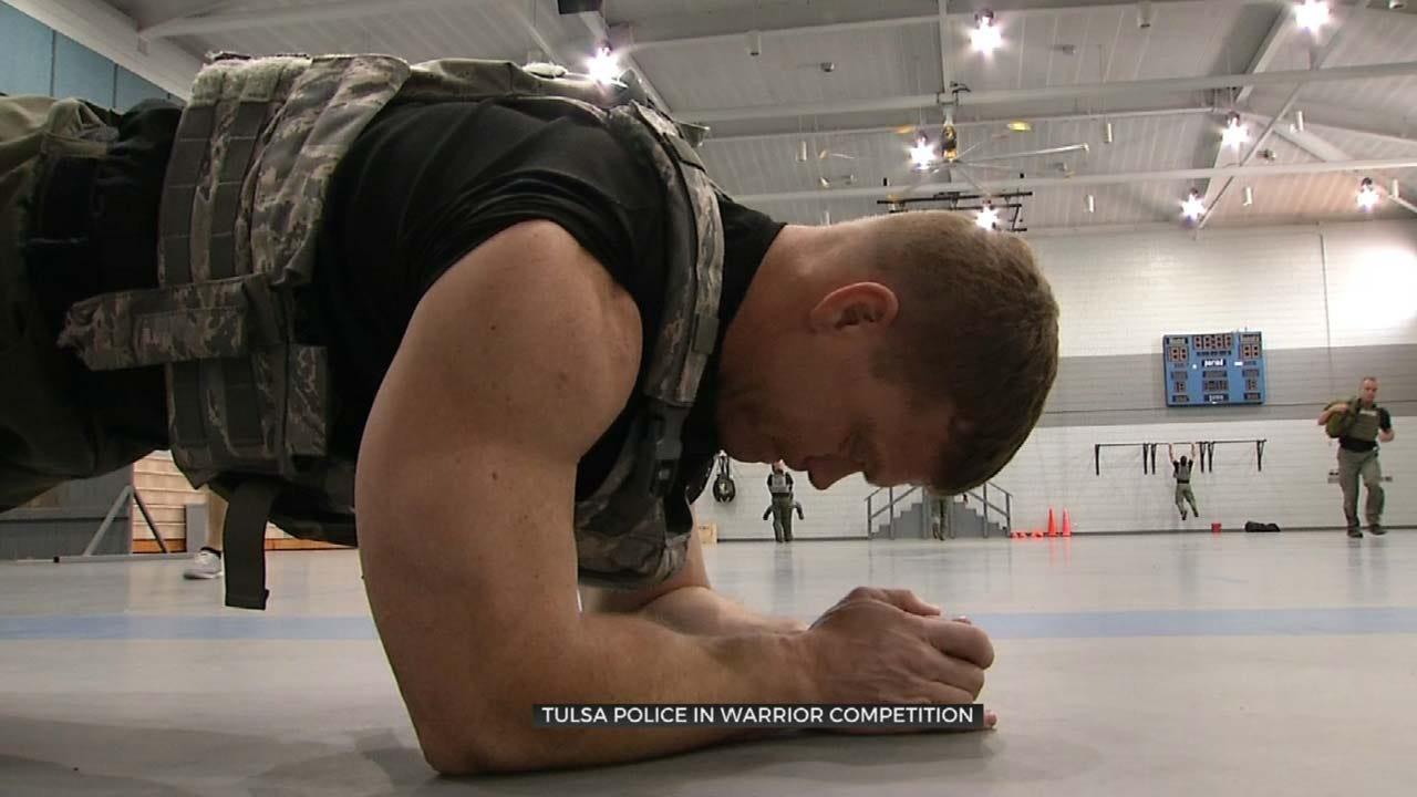 Tulsa Special Ops Team Prepares For International SWAT Competition