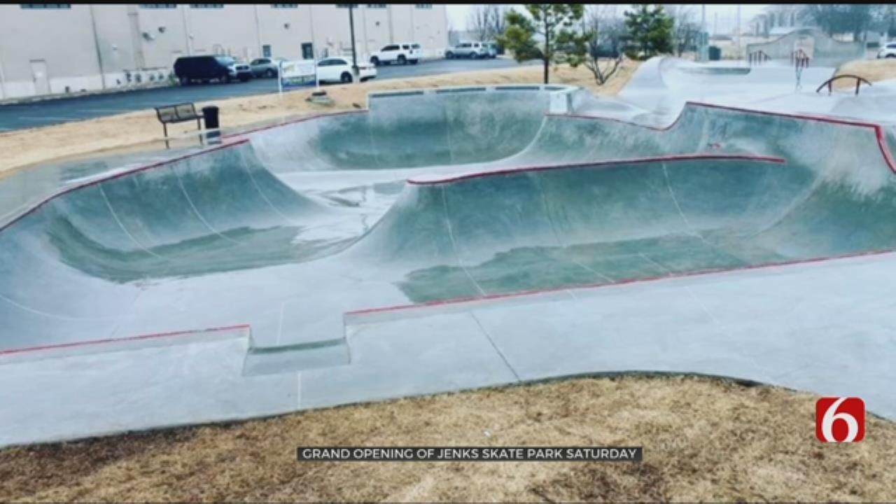 Jenks Gets New Skatepark
