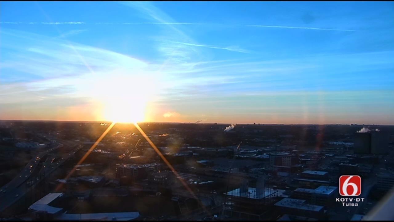 Tulsa Friday Sunrise