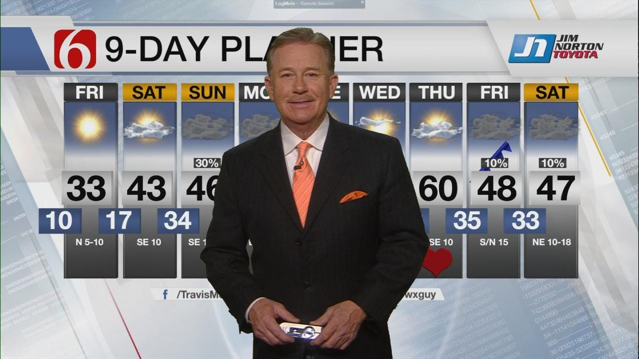 Thursday Night Forecast With Travis Meyer