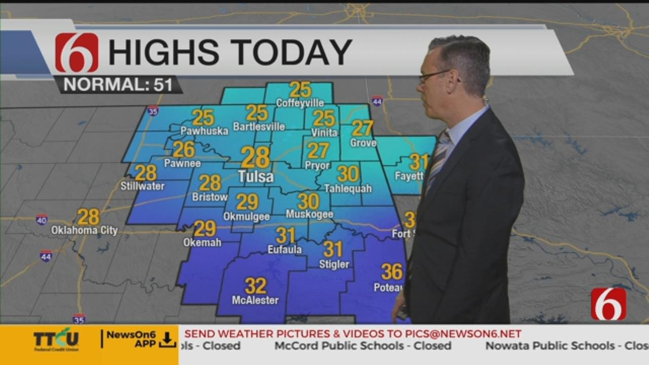 Thursday Morning Weather Update With Alan Crone