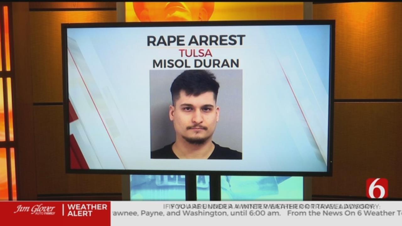 Tulsa Man Accused Of Raping Woman He Met Online