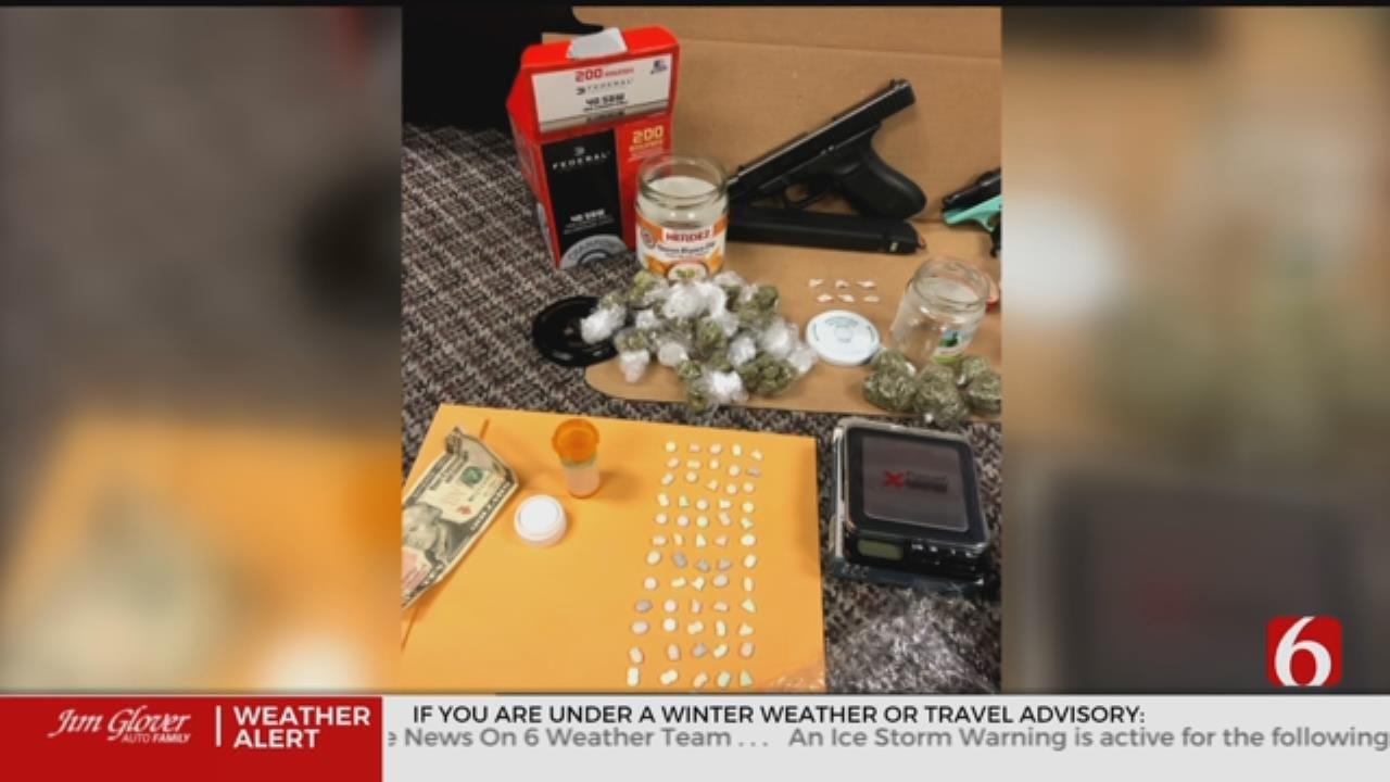 2 Arrested After Muskogee Drug Bust