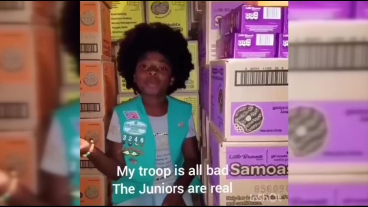 Girl Scout Makes Rap Video About Cookies