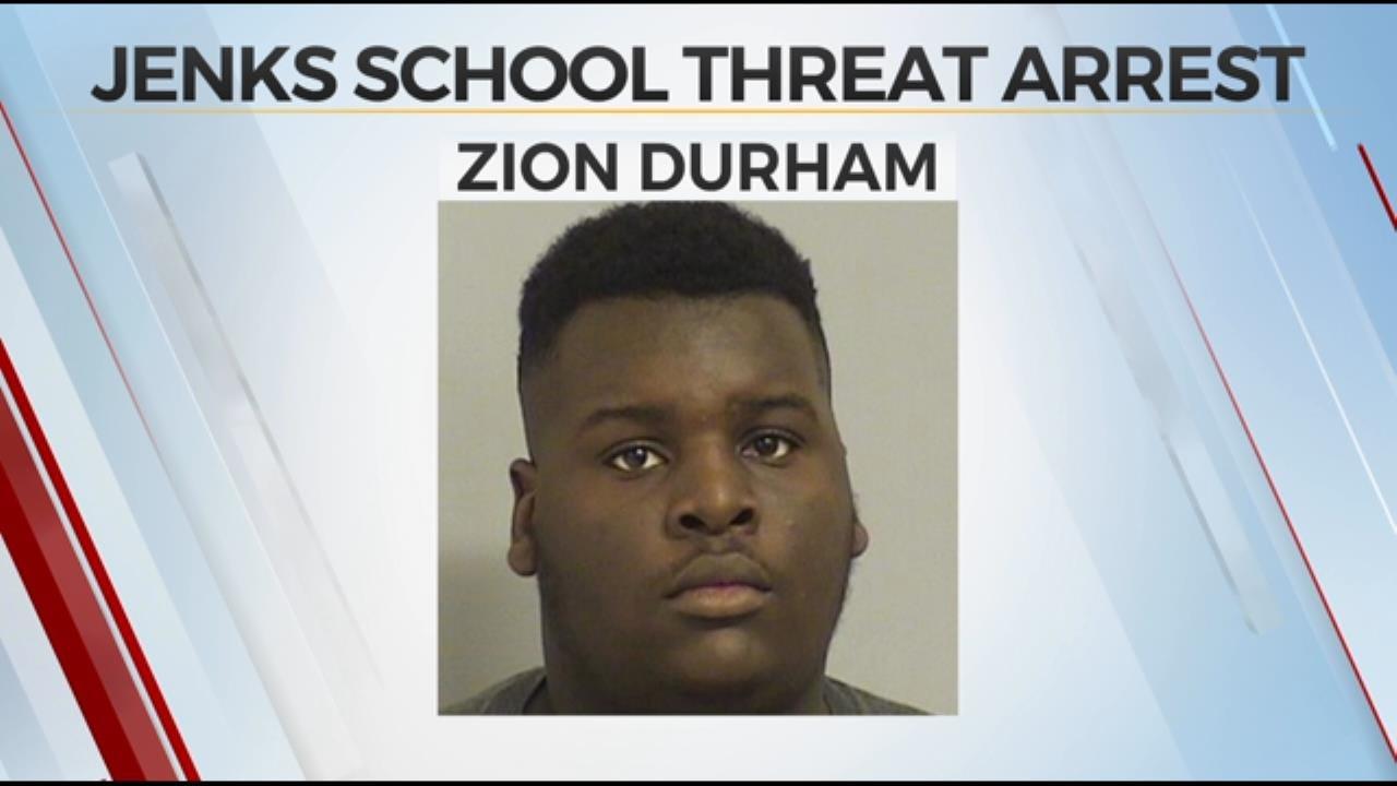 2 In Custody For Threats Against Jenks School